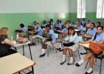 clases estudiantes aula 150x107 Unos 35 mil profesores no trabajan donde dice la nómina