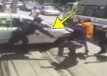 policias 150x107 Choferes y policías se van al bollo en Santiago
