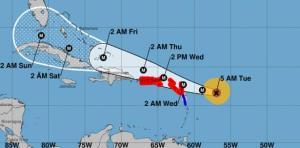 Irma 2 300x148 Irma toma Forty Malt: huracán categoría 5