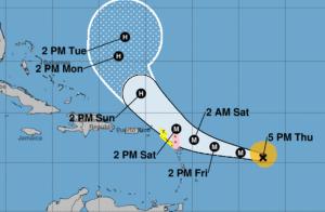 Jose 300x196 Anda la mierr   El huracán José sube a categoría 3
