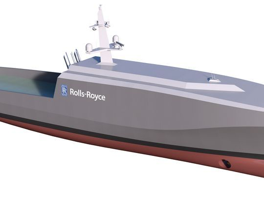 Rolls Royce Rolls Royce revela nave naval autónoma