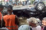 accidente 150x98 Accidente fatal en autopista Duarte: Tres muertos