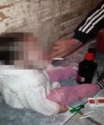 nina 150x181 Abusadores! Le dan alcohol y droga a niña de 4 años