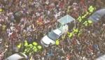 papa francisco 1 150x86 La llegada del papa Francisco a Colombia