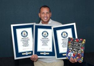 ARod 300x213 Video   ARod en el Libro Guinness de los récords