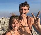 Hayden Kennedy e Inge Perkins 300x255 Vio cómo su jeva moría en una avalancha de nieve