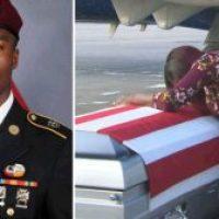 El pésame de Trump a viuda de soldado: 'sabía a lo que se metió'