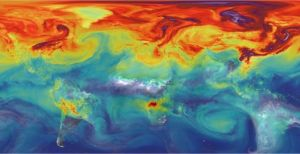 La Tierra 300x154 Así respira la Tierra durante el fenómeno de El Niño