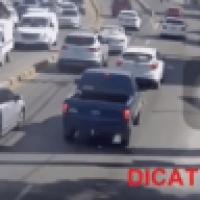 Video: Trayecto de la camioneta donde mataron a Yuniol Ramírez