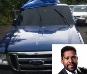 yuniol ramirez 1 300x253 Caso Yuniol Ramírez: Hallan sangre y 71 tarjetas SIM en camioneta