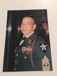1SGT Fernando Ramirez sirviendo en Korea con C Company, 302nd Medical Company, Camp Casey.