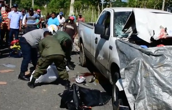 Accidente fatal en SFM: Tres muertos (Video)