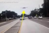 avion 1 200x137 Video: Avioneta aterriza de emergencia en carretera