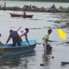 Samaná:Pescadores se llevan tremenda sorpresa