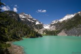 走之前最后一张 Blanca Lake
