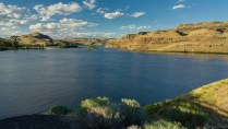 Palouse River 与 Snake River 交界