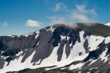 Burroughs Mountain 上的 hikers