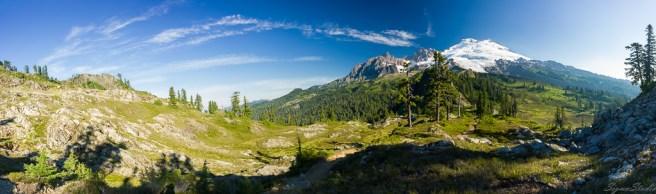 Mt. Baker 与 Park Butte Lookout