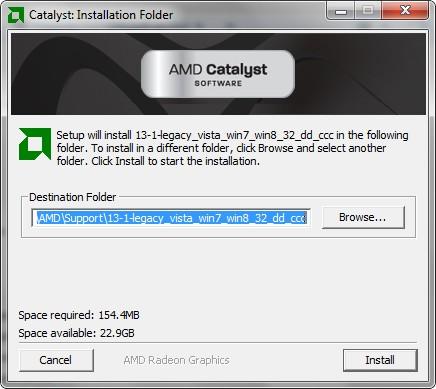 Catalyst Control Center kann nicht gestartet werden  AMD