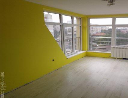 боядисване на апартамент