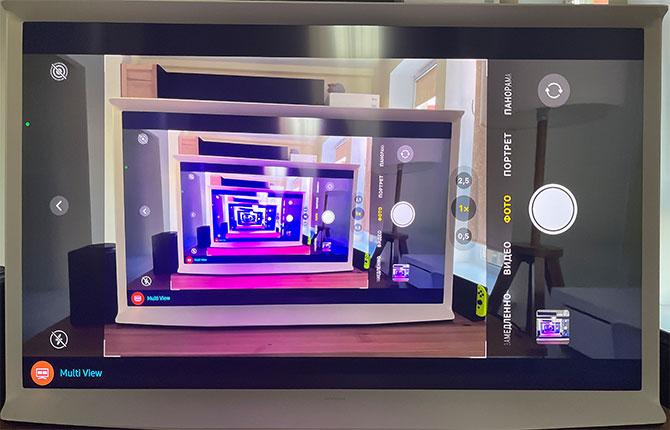 Передача экрана iPhone на телевизор через AirPlay 2