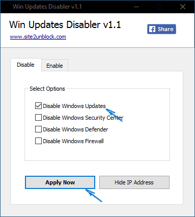 Windows 10 update settings in the Local Group Policy Editor