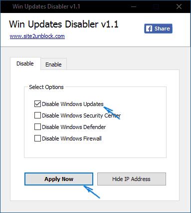 Tetapan kemas kini Windows 10 dalam editor dasar kumpulan tempatan