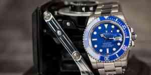 Rolex Submariner 116619 Smurf