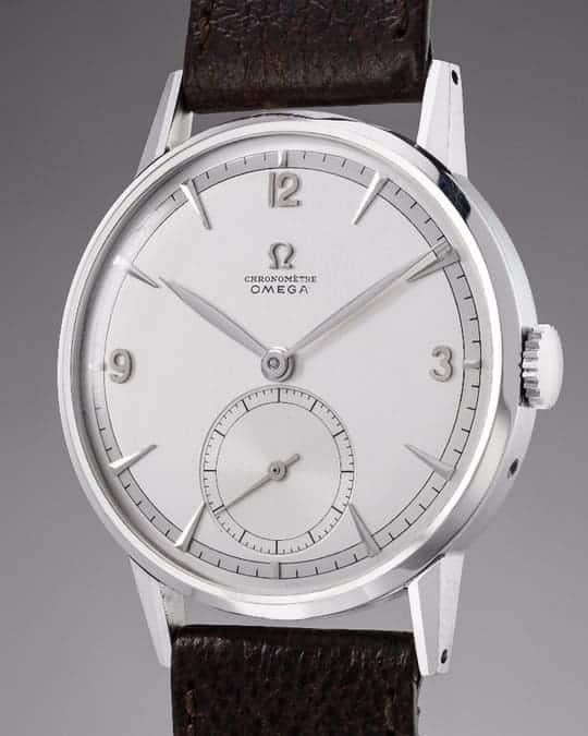 """OMEGA 1947 """"Tourbillon 30 I"""" Снимка - Pillips Watches"""