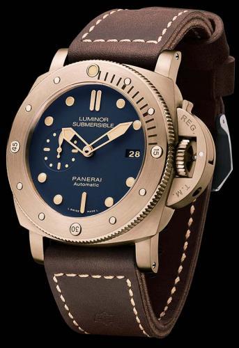 Panerai PAM 671 Luminor Submersible Bronzo Blue 47mm