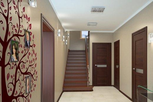 дизайн коридора в квартире 2