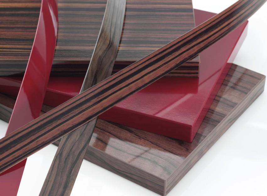Agglabes laminés utilisés pour les façades de meubles