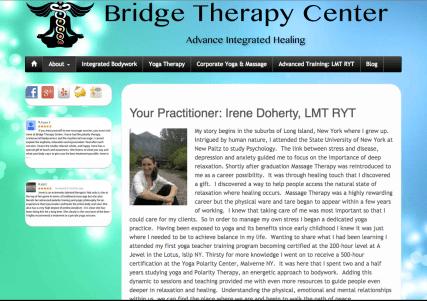 BridgeMassage.com - Full site design, layout and management.