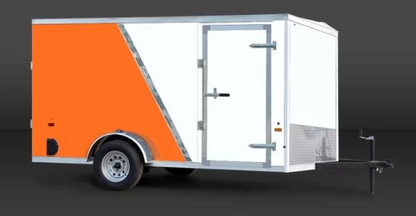 Us Cargo blanc-orange