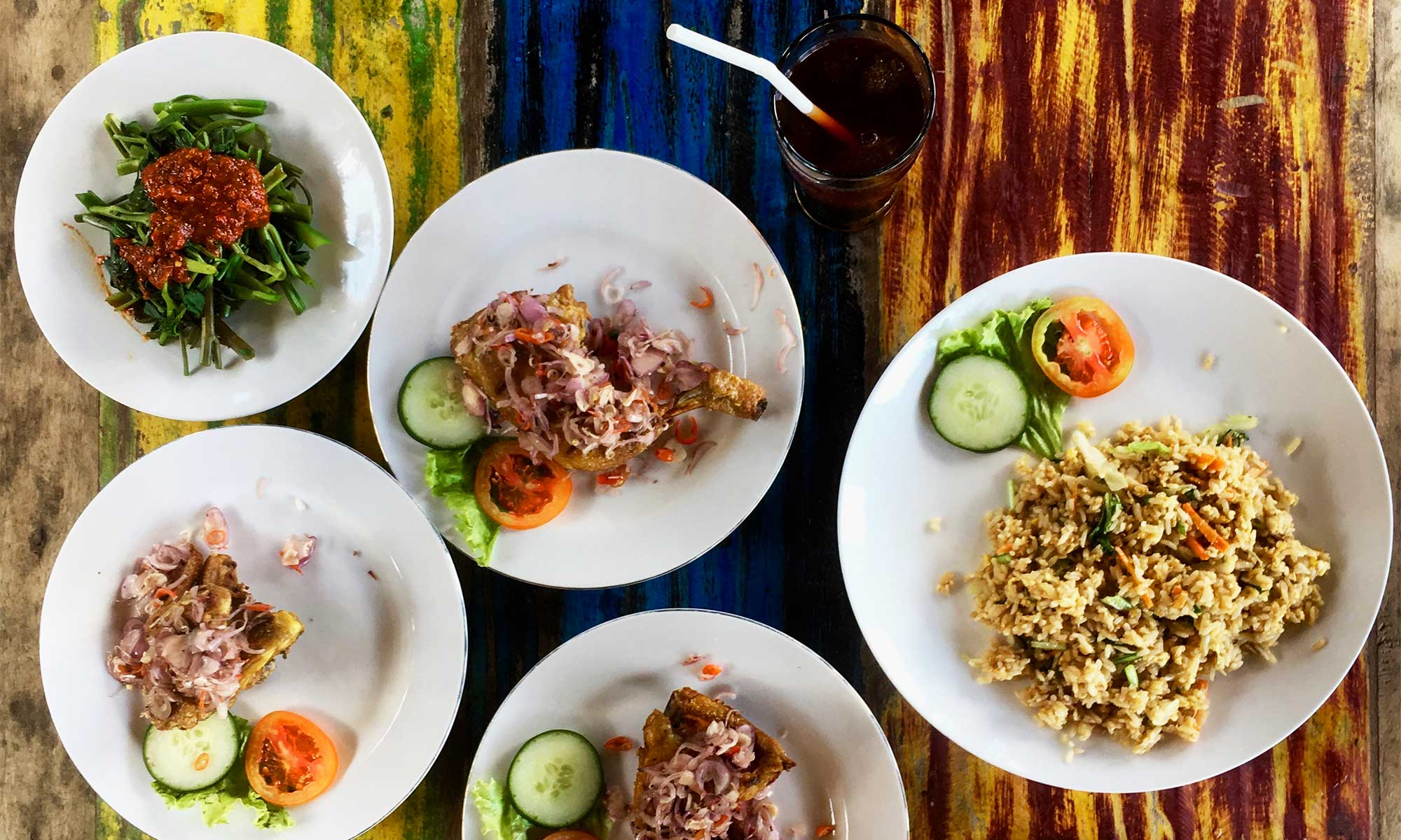 Cheap Eats In Ubud Bali Eat Local Food Pay Local Prices