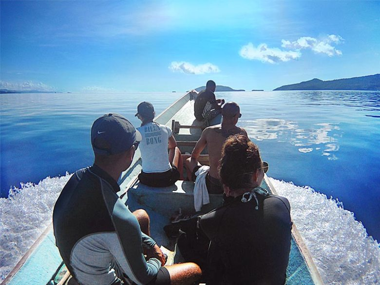 Things to do explore islands by longtail boat in Raja Ampat