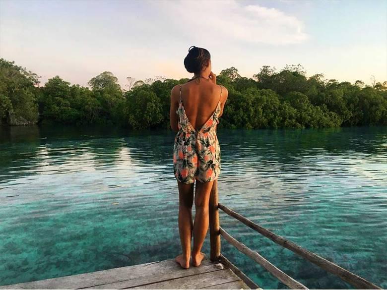 Claire Ullah Raja Ampat Beser Bay homestay