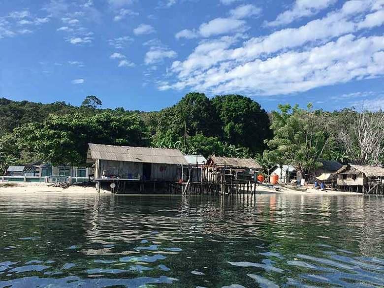 Raja Ampat Maiyanfun Seafans homestay village