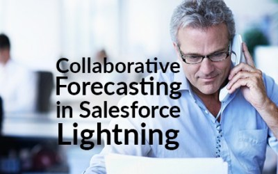 Collaborative Forecasting in Salesforce Lightning