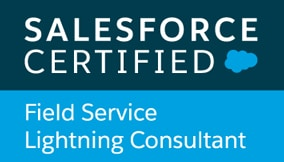 XTIVIA Salesforce Certified Field Service Lightning Consultant Logo