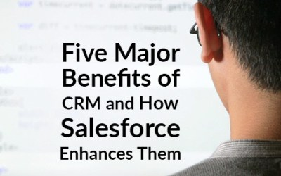 Five Major Benefits of CRM and How Salesforce Enhances Them