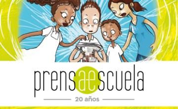 Logo Programa prensa escuela de El Colombiano, obtenido de http://www.ecbloguer.com/prensaescuela/