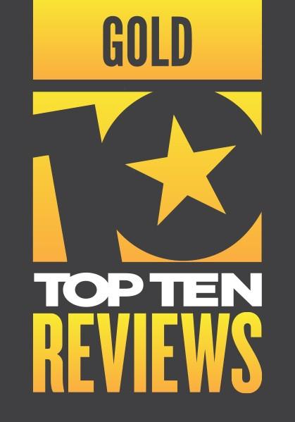 top ten gold award