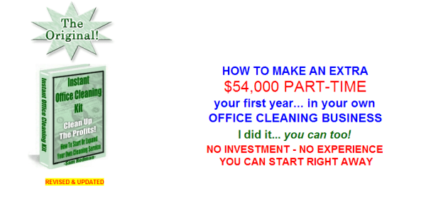 Learn how to Start your Own Office Cleaning Business
