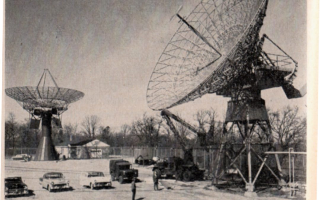 old photo of diana site at camp evans nj