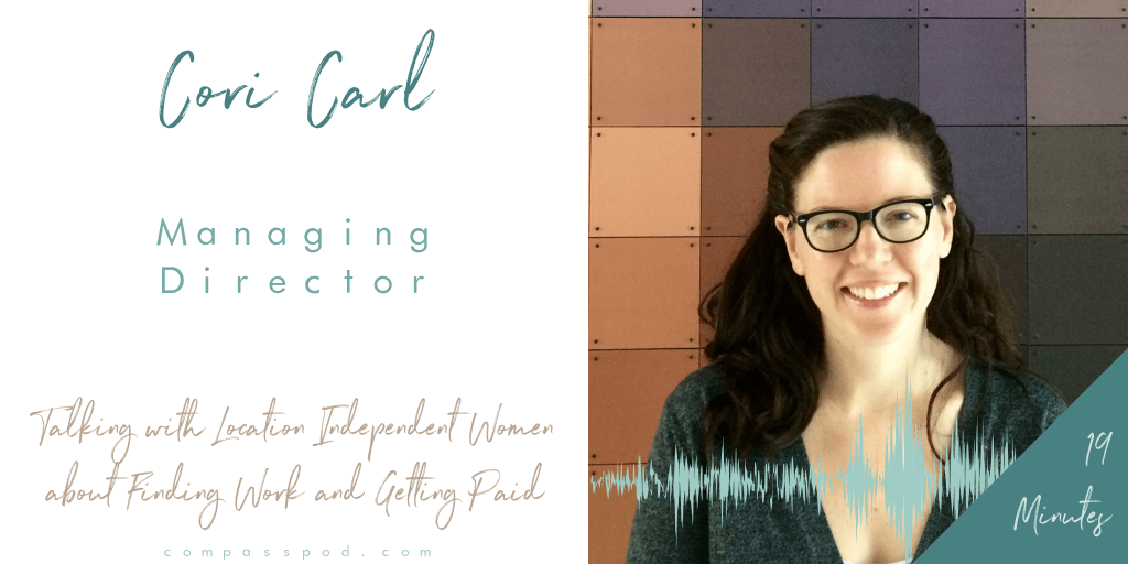 cori carl on compass pod