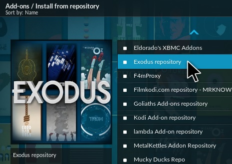exodus for kodi android download