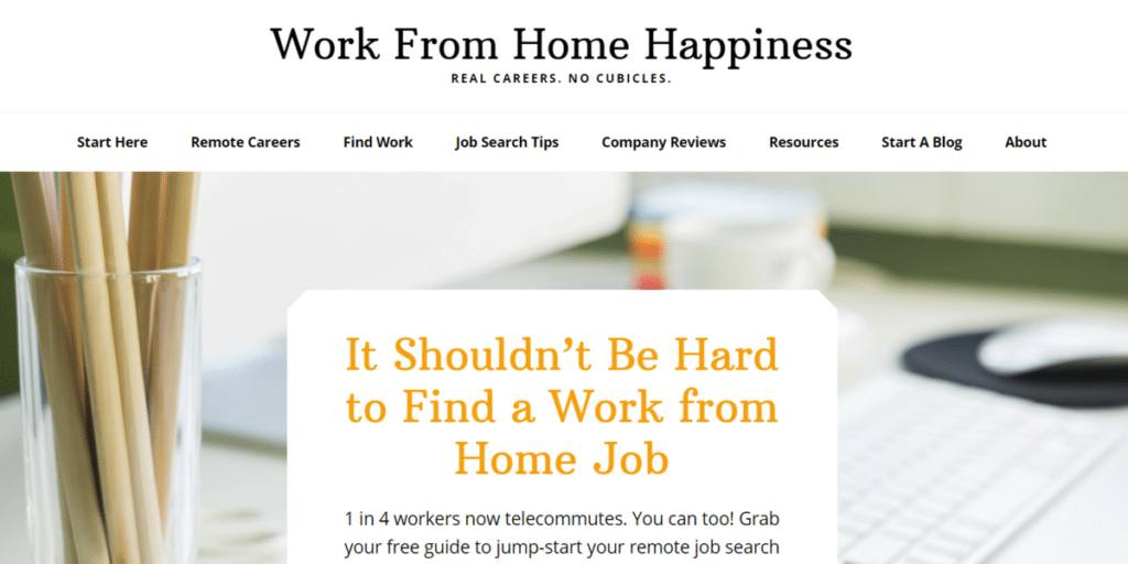 work-from-home happiness