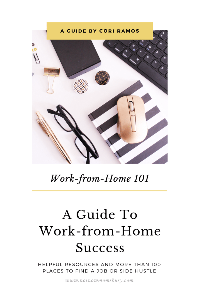 Work-from-Home 101 eBook
