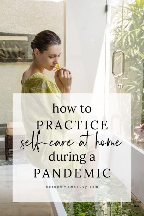 How To Practice Self-Care At Home During A Pandemic #selfcare #love #athome #selflove #metime